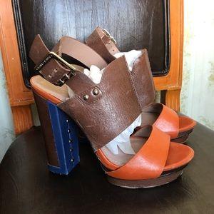 Vince Camuto Color Block Heels